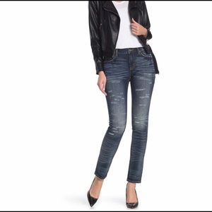 Rock Revival Remix Skinny Jeans; Mid Rise size 27
